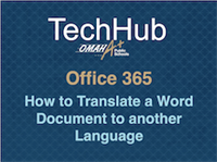 How to Translate a Microsoft Word document in a few clicks (70 languages!)