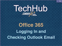 Office 365- Logging In and Checking Outlook Email